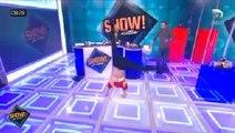 Une présentatrice télé fait... la roue en pleine émission !