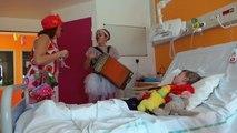 Les Clowns de l'espoir à Calais