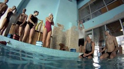 Ironman swim practice freestyle