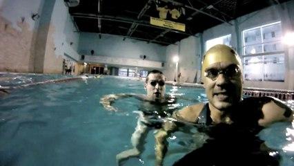 Ironman.lv triathlon swim freestyle practice