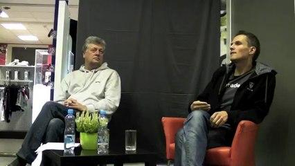 Rinalds Sluckis par lēmumu startēt PRO konkurencē un triatlona popularizēšanu Latvijā - 04.10.2012.