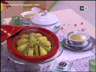 Choumicha recette - tajine pas cher et Velouté de petits pois
