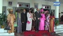 Ghellab s'enretient avec une délégation de femmes parlementaires sénégalaises
