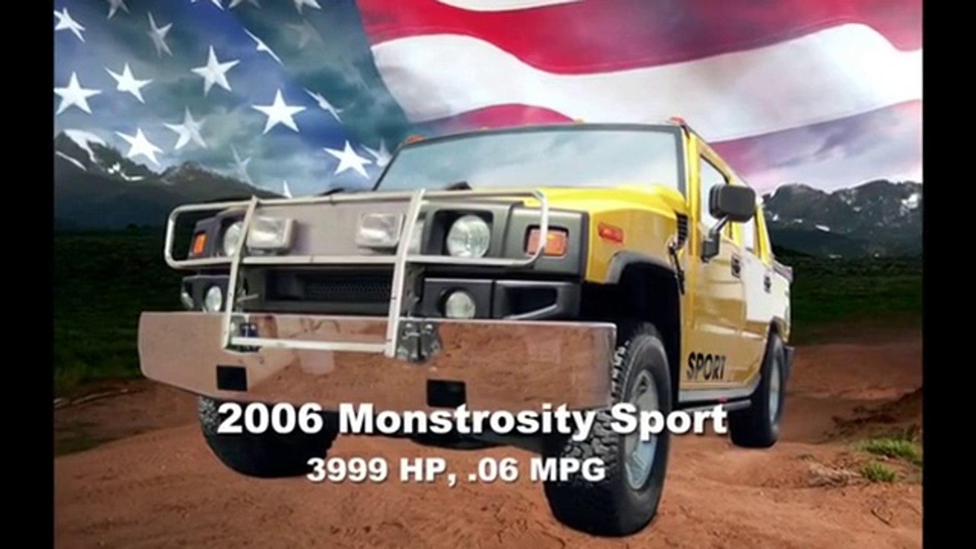 Lustig - Marschel mit 2006 Monstrosity oder 2006 Monstrosity Sport