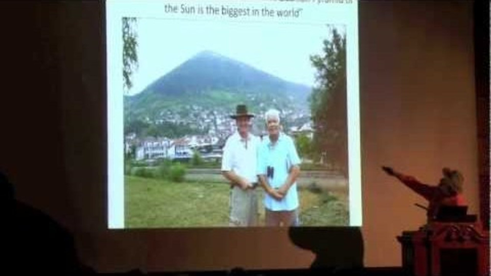 Lecture with Dr. Sam Osmanagich in Oslo about The Bosnian Pyramids