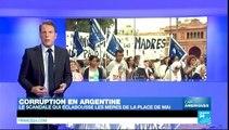 """cap amériques - Argentine : scandale autour des """"Mères de la Place de Mai"""""""