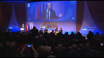 Introduction de Pierre Moscovici au Forum économique franco-chinois à Bercy [27/03/14]