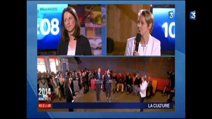 Le débat d'entre-deux-tours à Nantes