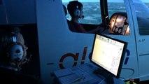 Un simulateur de vol à l'aéroport-club de Rennes Ille-et-Vilaine