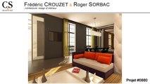 Rive gauche au cœur du Paris historique, rénovation d'un appartement avec vue sur le musée d'Orsay