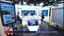 Municipales à Voiron : Le débat  d'entre deux tours
