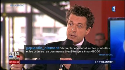 Le débat d'entre-deux-tours à Angers