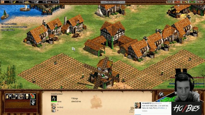 Alex sur Age of Empire 2 contre des bots
