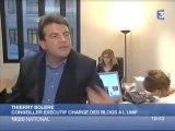 Reportage de France 3 blogs et politique