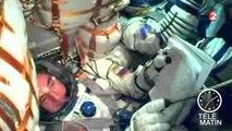 Après deux jours d'attente en orbite, un vaisseau Soyouz s'arrime enfin à l'ISS