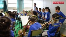Saint-Brieuc. La classe orchestre de l'école de la Vallée en concert
