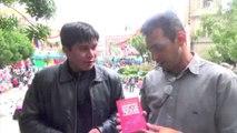 Bolivia TV entrevista al escritor Ulises Barreiro durante su visita a La Paz