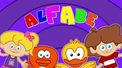 ABC ALFABE şarkısı Sevimli Dostlar Çocuk Şarkıları (Türkçe Çizgi Film)