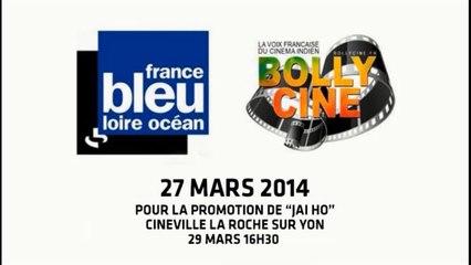 France Bleu Loire Océan - 27 mars 2014 @Bollycine