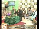 Mehfil e Melad from Uk 2013 - Qari Shahid Mahmood Qtv naat mehfil - Part-4