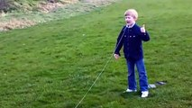 Dad uses drone to pull son's tooth