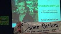 Meeting du deuxième tour le 27 mars à l'Auditorium du Musée, Poitiers