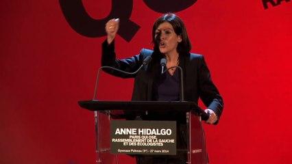 Le meilleur du dernier meeting de campagne d'Anne Hidalgo
