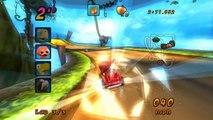 HTC Vive - Mario Kart: Double Dash!! mushroom cup gameplay (Dolphin