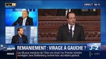 """BFM Story: Remaniement du gouvernement : François Delapierre estime que François Hollande doit prendre un """"virage à gauche""""- 28/03"""