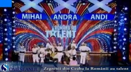 Zegrenii din Ceaba la Romanii au talent 7 martie 2014