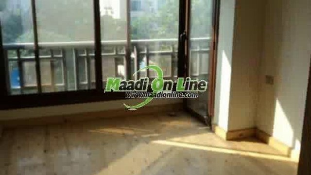 very nice flat inside Compound in nice location in maadi sarayat  nice price