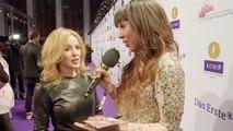 Kylie Minogue short interview at ECHO 2014