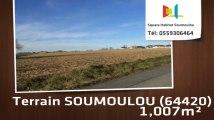 A vendre - Terrain - SOUMOULOU (64420) - 1 007m²