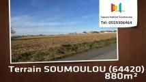 A vendre - Terrain - SOUMOULOU (64420) - 880m²