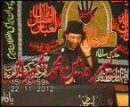 Majlis e Aza 5 muharam Allama Nasir Abbas Shaheed