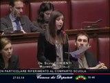 """Silvia Chimienti (M5S): """"Bisogna stabilizzare precari scuola e Pa, governo fuorilegge"""" - MoVimento 5 Stelle"""