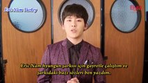 [Turkish Subtitle] Hoya'nın Eric Nam için Gönderdiği Destek Mesajı
