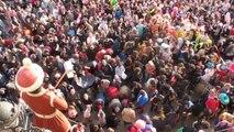 Carnaval de la bêtise Lancé de bêtises