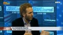Rubrique nouvelles technologies: va-t-on vers une bulle ?: Alexandre Mars, dans Le Grand Journal de New York - 29/03 4/4