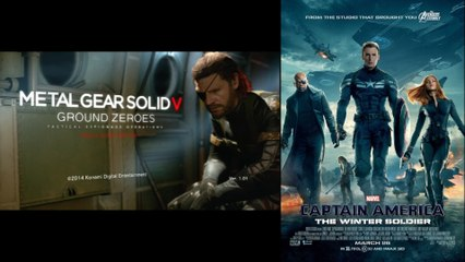 My Thoughts on MGS V: Ground Zeroes & Captain America 2