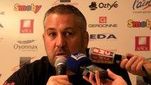 Rugby Top 14 - Christophe Urios réagit après Oyonnax - Grenoble (2e partie)