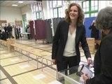 Municipales 2014: Nathalie Kosciusko-Morizet a voté - 30/03