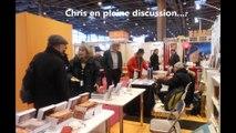 Chantal Antunes présente quatre  auteurs au salon du livre de Paris de 2012 à 2014