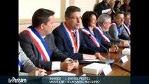 Municipales à Herblay (95). prise de fonction du nouveau maire
