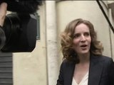 Municipales 2014: Nathalie Kosciusko-Morizet arrive dans son QG parisien - 30/03