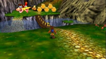 Banjo-Kazooie HD on Project64 Emulator (Widescreen Hack)