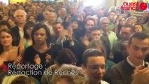 Municipales à Rennes. Daniel Delaveau annonce les résultats définitifs