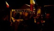 Le Pontet - Après la victoire de Joris Hebrard, l'ambiance était au rendez-vous devant la permanence FN.