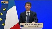 """Municipales 2014: Manuel Valls parle d'une """"défaite locale et nationale"""" de la gauche - 30/03"""