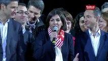 """Anne Hidalgo: """"Merci aux parisiennes et aux parisiens de nous avoir fait confiance"""""""